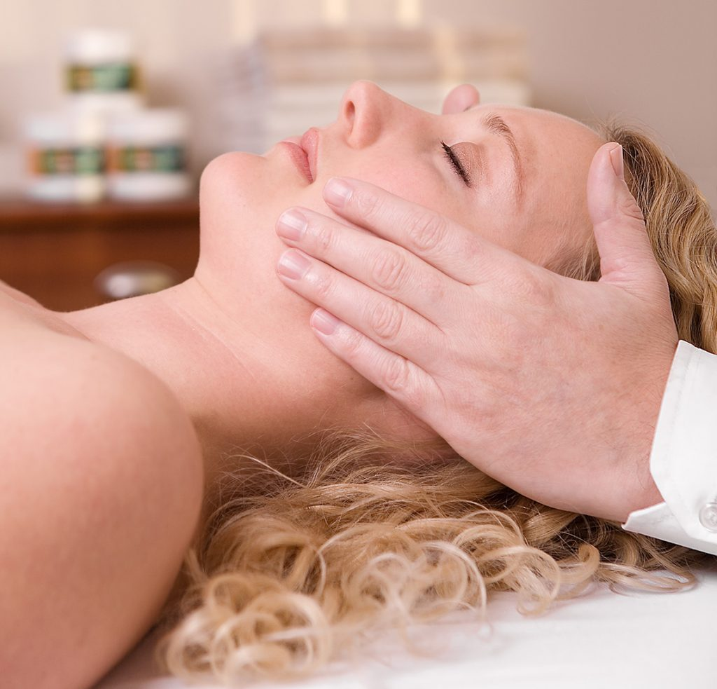 Lymphatic drainage massage-2